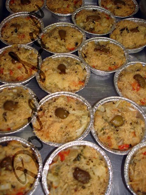 Torta rápida de verduras....misture tudo e forno nela!