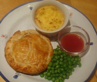 Pea Pie and Spud - A Rich Apple Pie to Finish