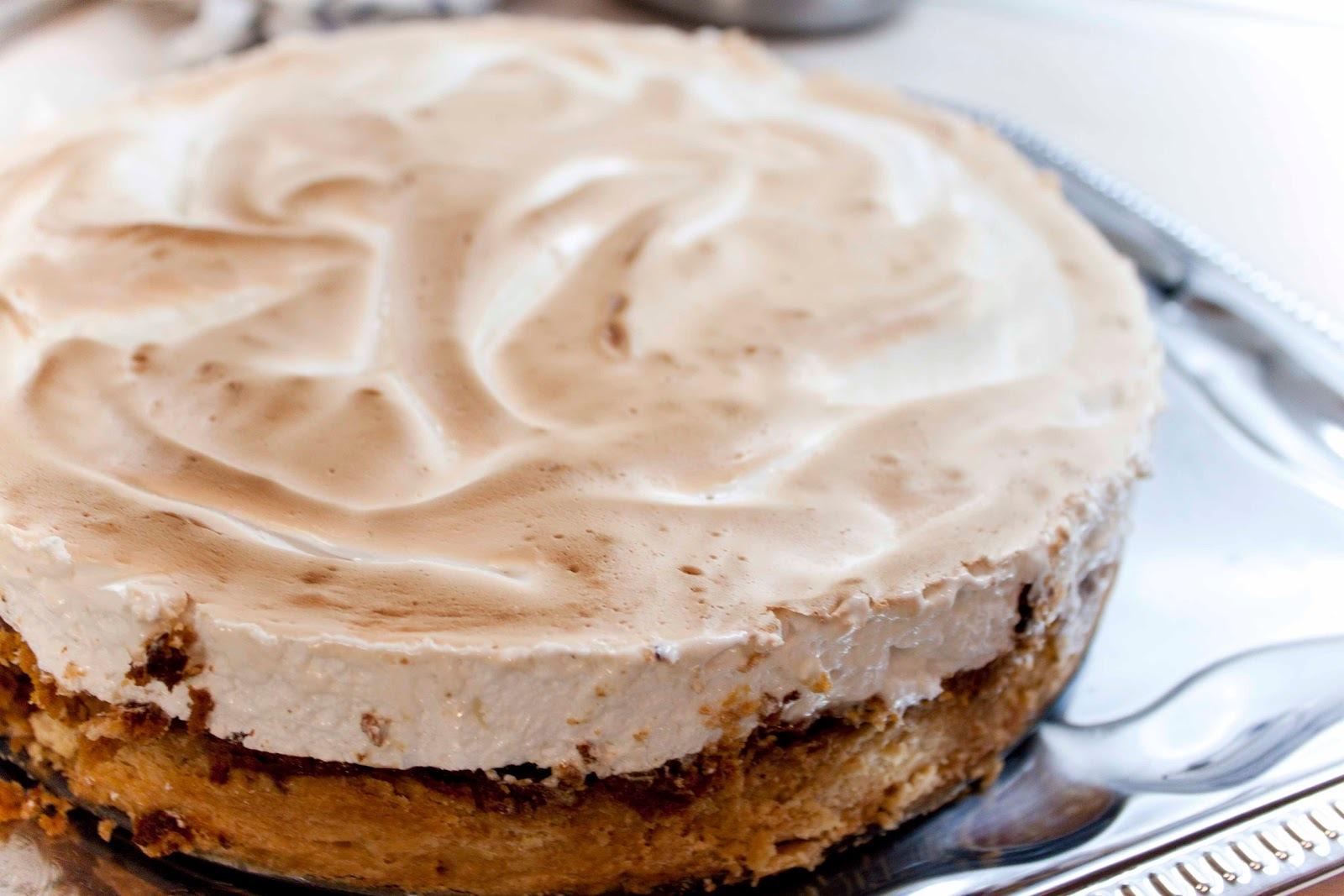 Dýňový dort s pusinkou