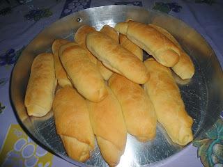 Pão caseiro de sal