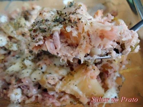 Salada de Atum Defumado ao Forno