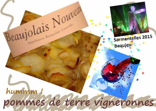 Recette de pommes de terre vigneronnes, beaujolaises