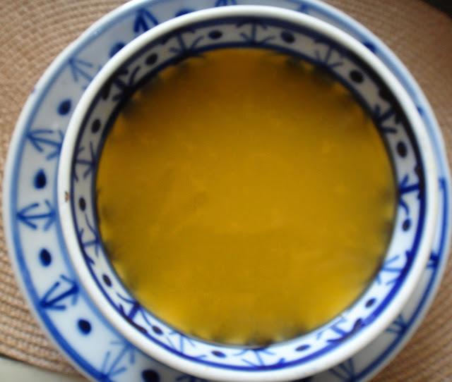 Caldo base para sopas e cremes