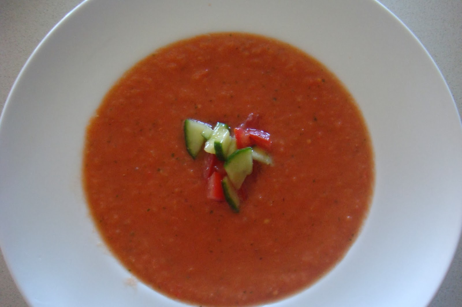 Excellent Gazpacho - Summer Perfect for those on The Paleo Diet