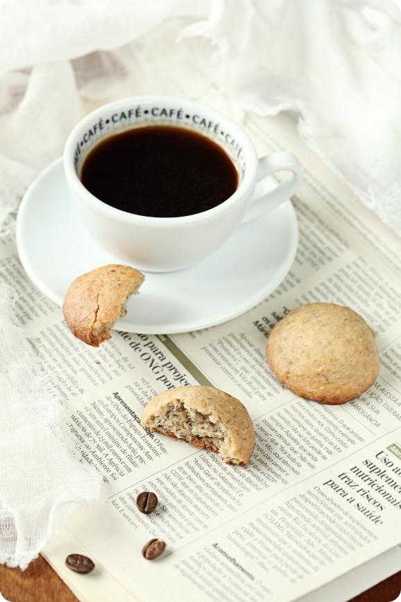 Постное банановое печенье / Biscoitos de banana sem leite e sem ovos