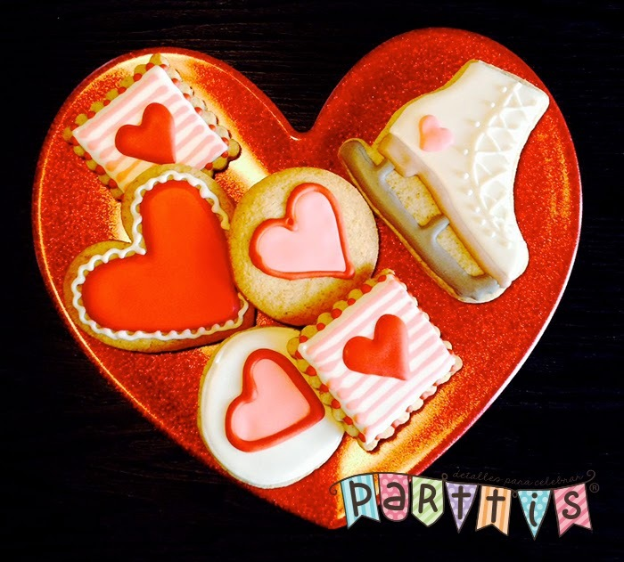 Galletitas de San Valentín :: un lindo detalle para este 14 de febrero