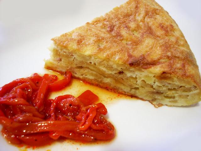 Tortilla de Patatas Paja