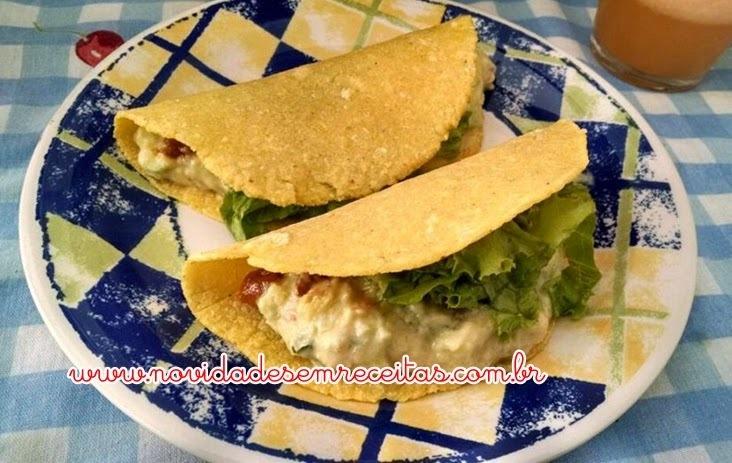 Tacos Mexicanos - Receita com vídeo por Izabel Bonatti