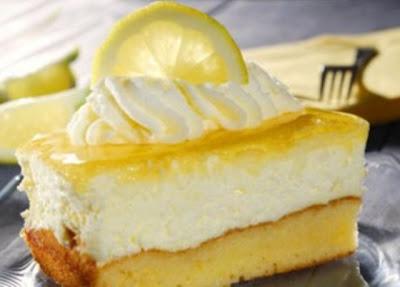 Tarta fría de limón