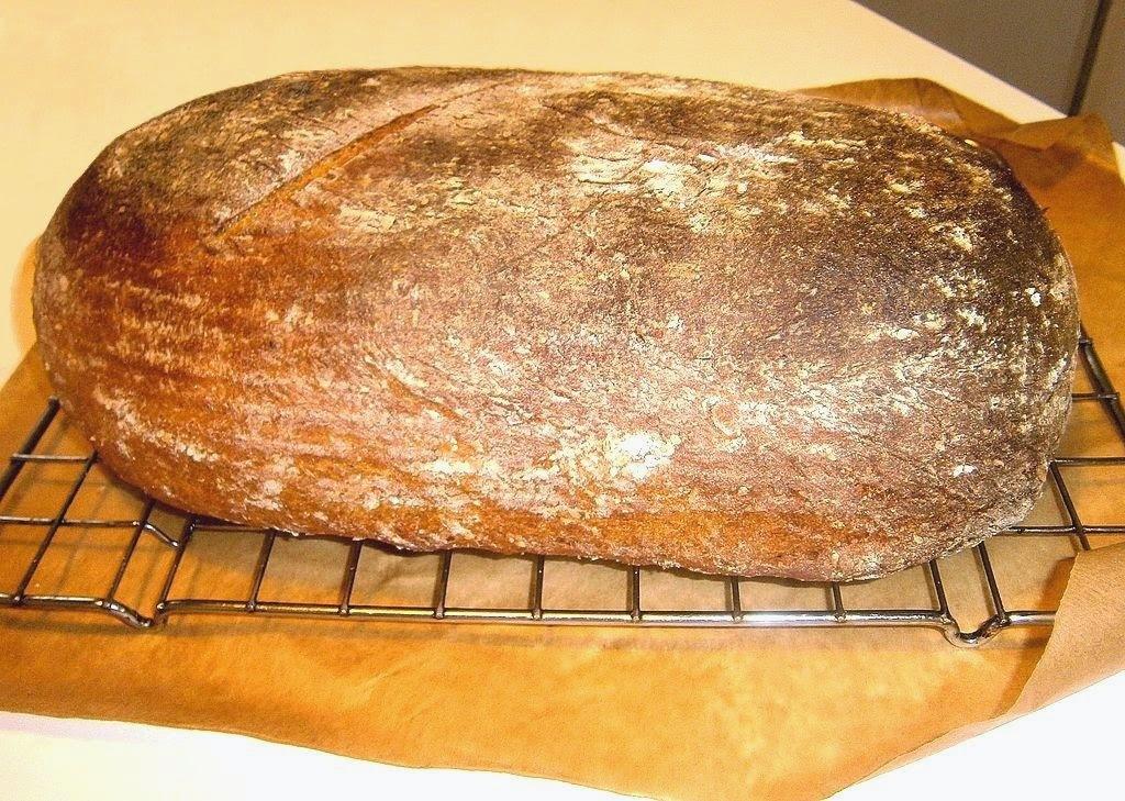 Pšeničný chlieb so špaldou kváskový