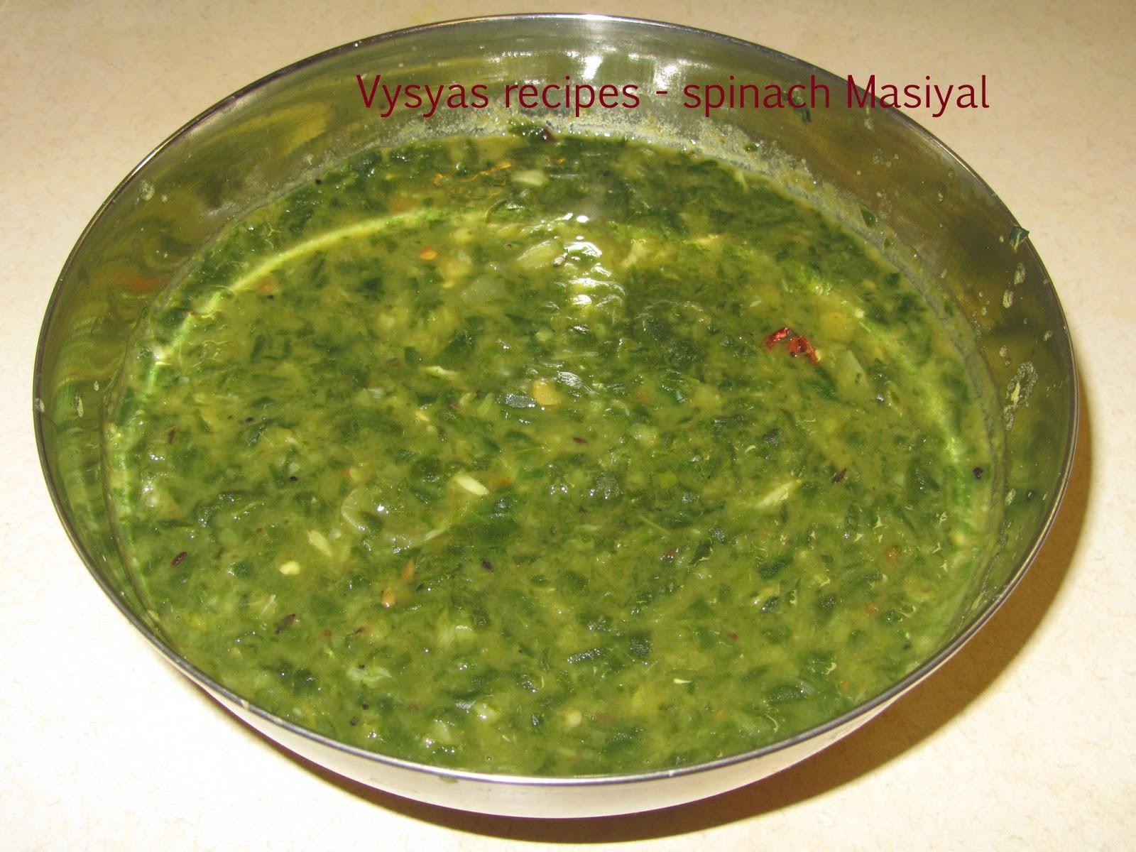 Palak keerai Masiyal - Palakkoora  pappu - Spinach masiyal - Keerai Masiyal