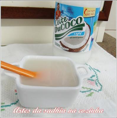 Leite condensado de coco Ducoco  ( sem lactose ).
