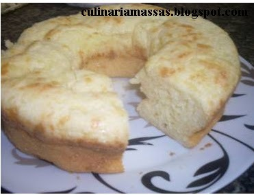Massas:Pão de queijo de assadeira