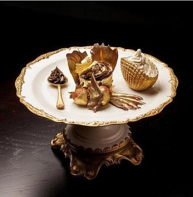 Cupcake de ouro comestível e o mais caro do mundo