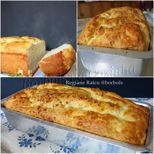 Pão de Cebola sem glúten  e sem açúcar