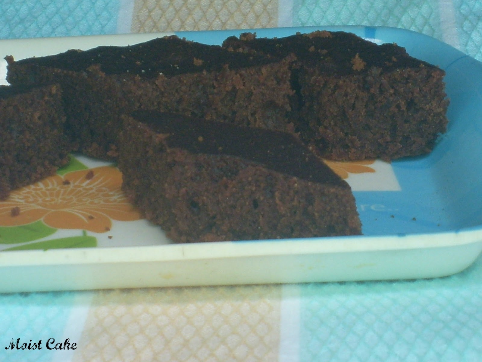 Wheat Chocolate Cake | Eggless Butterless Version