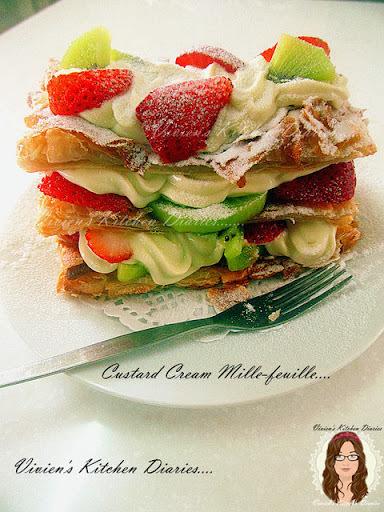 拿破崙。蛋糕----------食譜編寫於【2013.08.12】