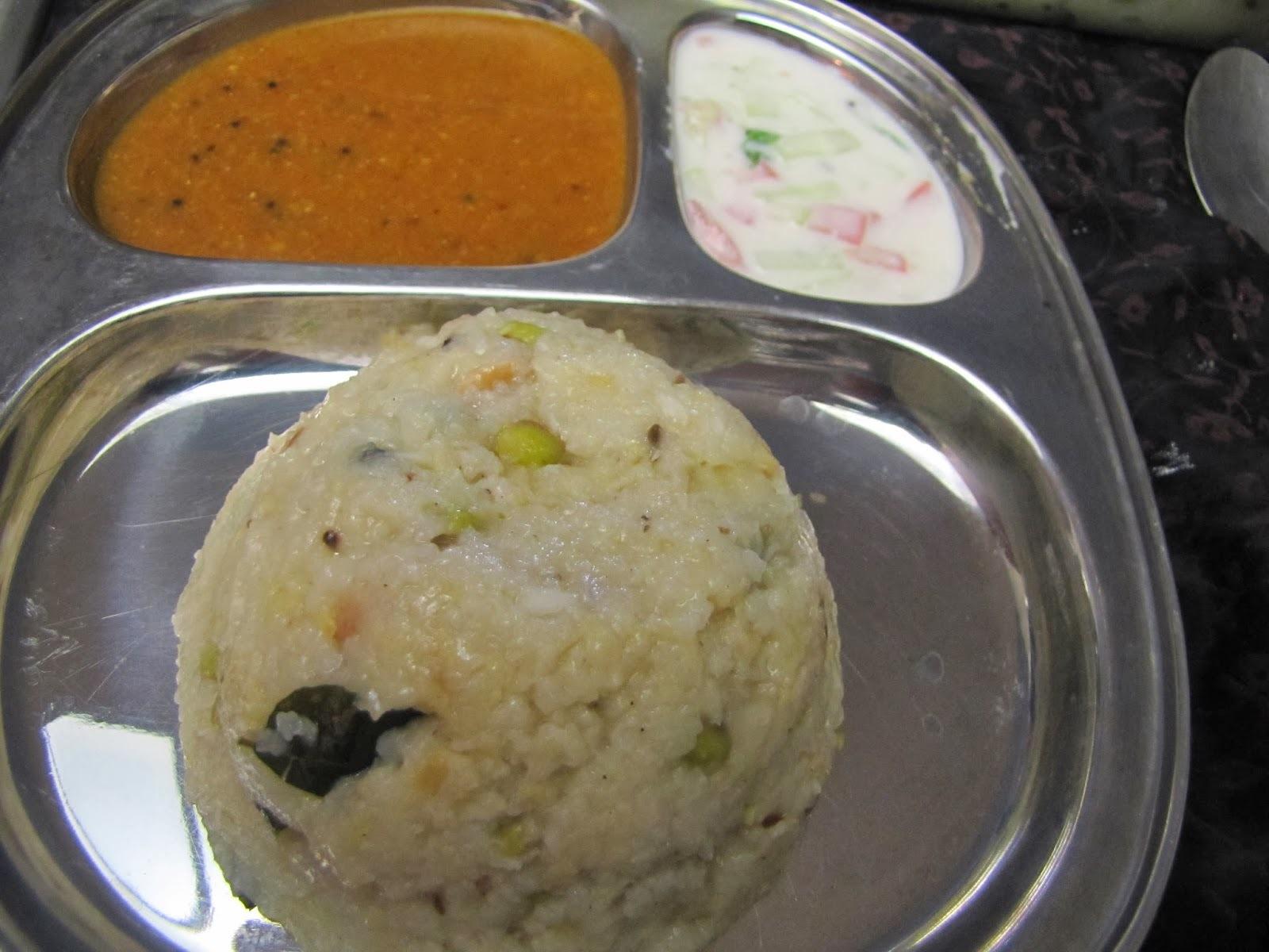Ven Pongal -Comfy food