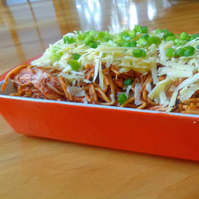 Frugal Foodie Friday - Slow Cooker Southwestern Chicken Spaghetti