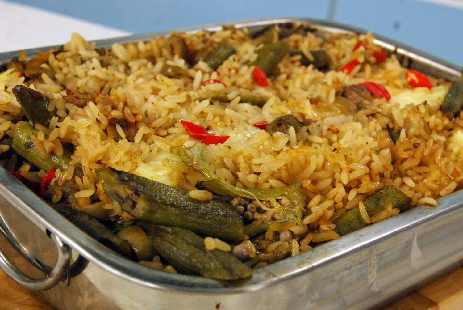 ARROZ ASSADO DE CUPIM