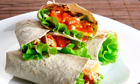 Burritos Vegetarianos de Aguacate