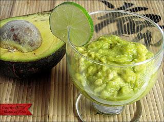 Abacate com Limão e Açúcar