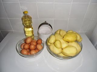 Tortilla de patatas gigante
