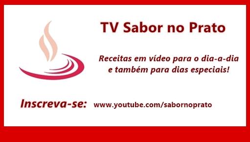Novidade: Receitas em vídeo!