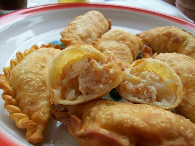 ¿Cómo preparar empanadas de langostinos?