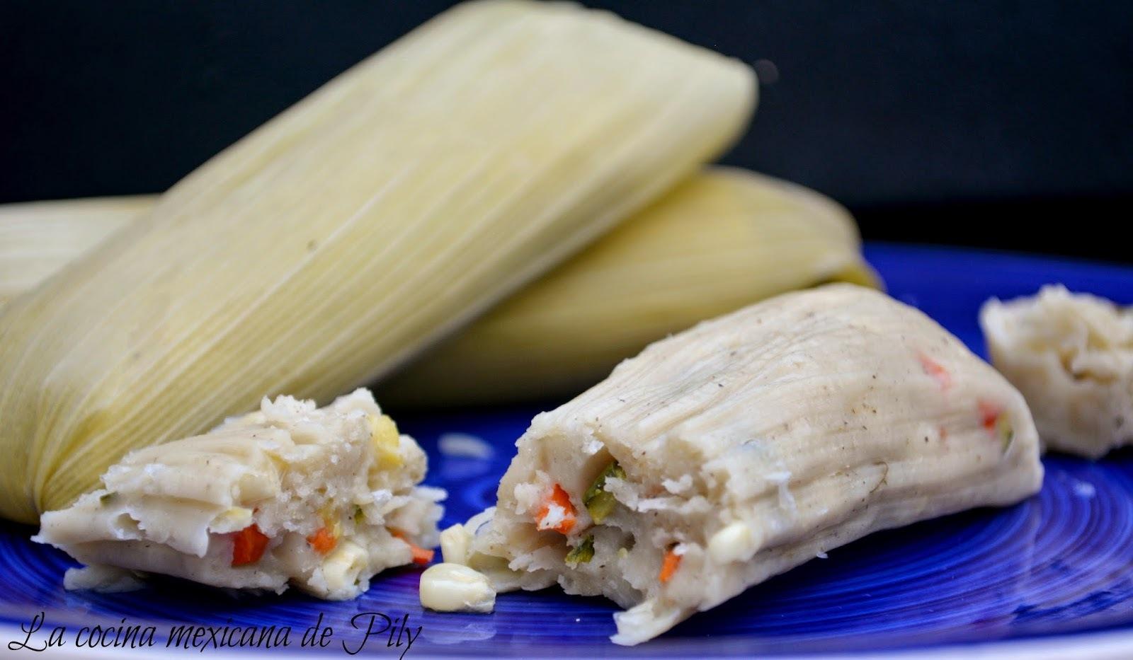 Tamales de Milpa