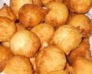 de bolinho de trigo frito de trigo simples salgado