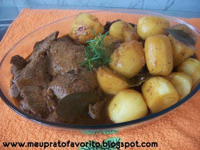 o que fazer com sobras de carne de panela e batatas