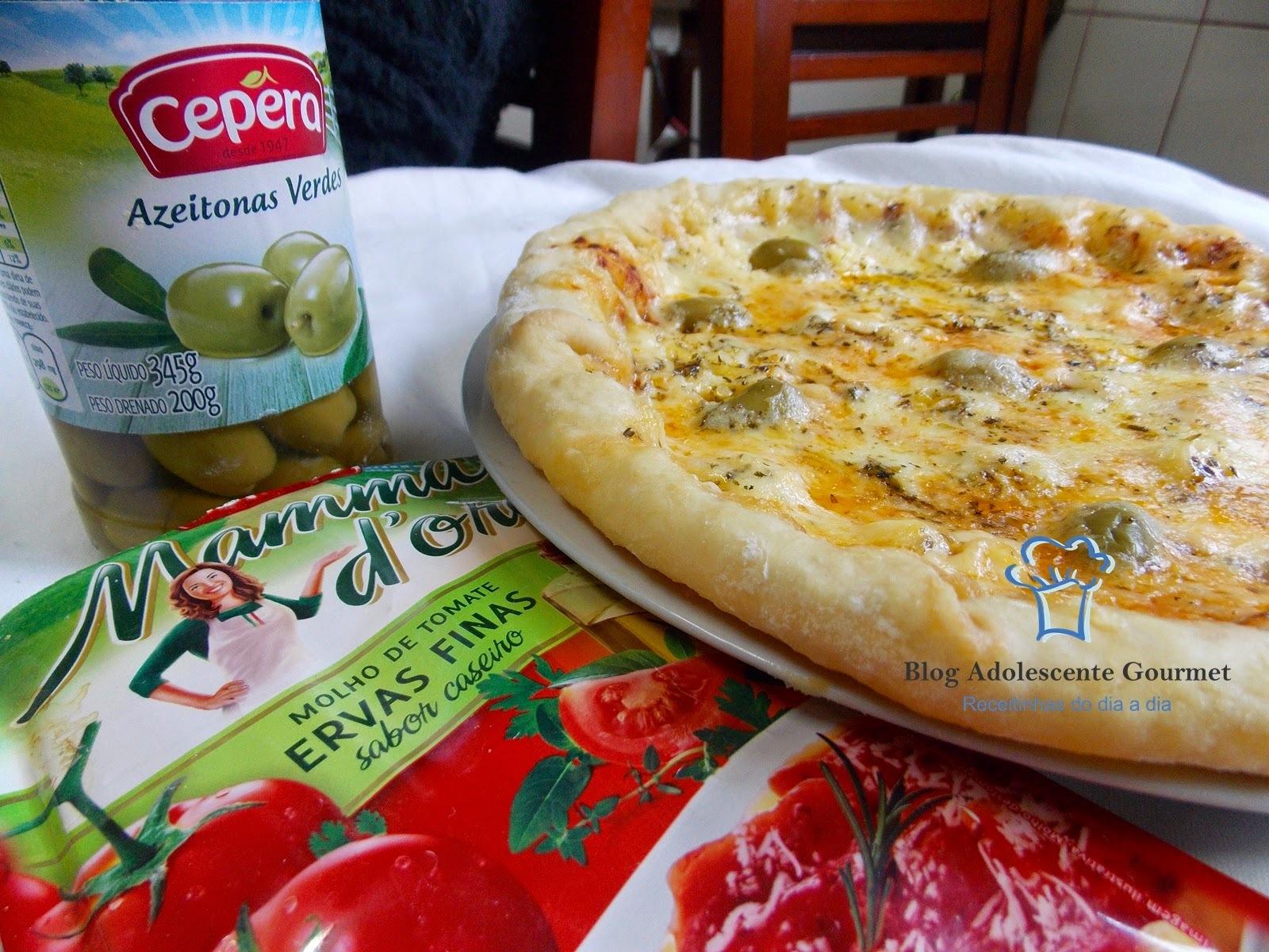 Pizza de dois queijos Cepera