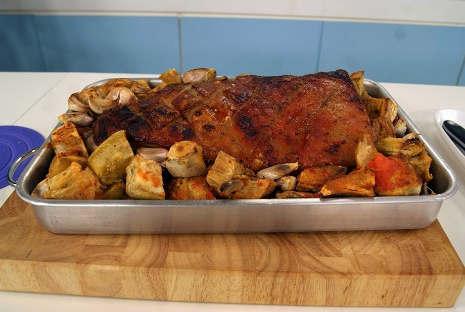 como preparar barriga de porco com cachaça