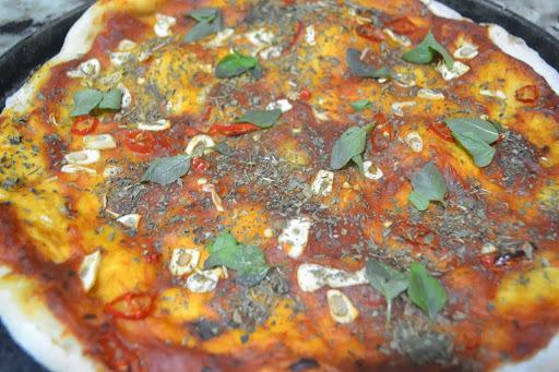 A Pizza primitiva