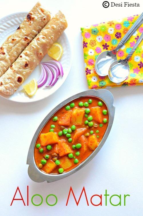 Aloo Matar Recipe |Aloo Mutter Recipe ( Potato peas gravy) ~ No onion No garlic Recipes