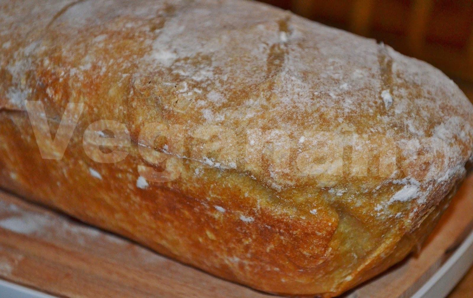 Pão de Forma Semi-Integral com Fermentação Lenta