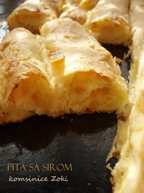 Pita od sira sa domaćim korama