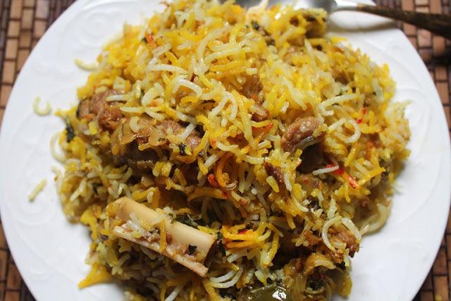 Easy Mutton Dum Biryani Recipe - Lamb Biryani Recipe