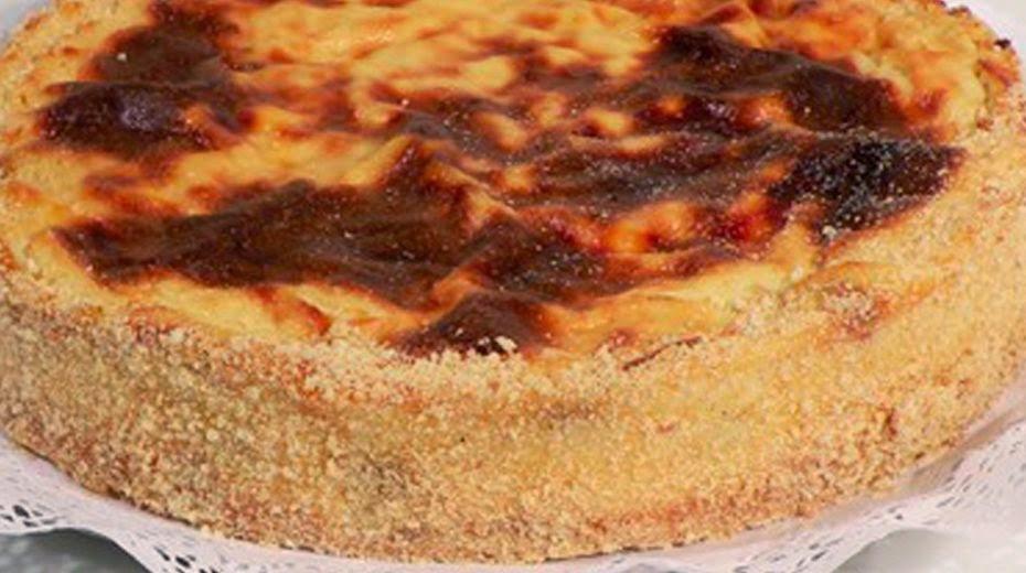 Kuchen de Quesillo con Pasas
