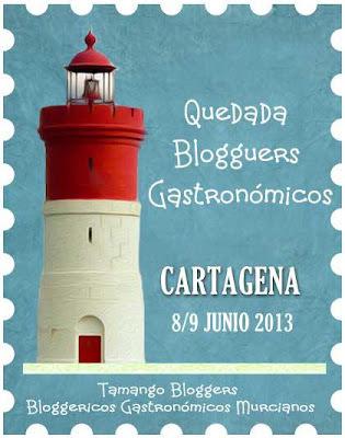 Quedada Bloggers Gastronómicos 8/9 de junio en Cartagena