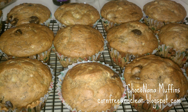 RECIPE OF THE WEEK: CHOCONANA MUFFINS