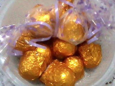recheio de trufa de prestigio para ovo de pascoa