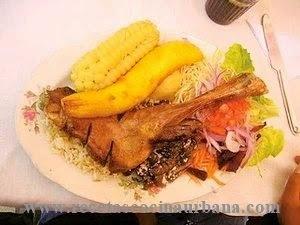 Cocina boliviana, brazuelo de cordero