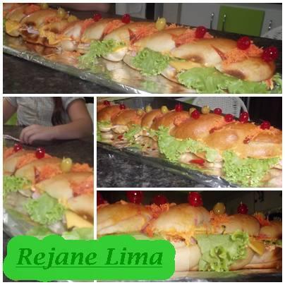 Sanduíche de metro: Rejane Lima