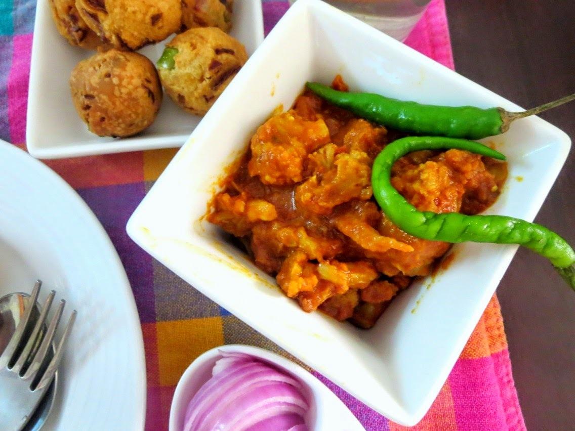 Masala Gobi | Cauliflower Masala ~ No Onion No Garlic Recipe
