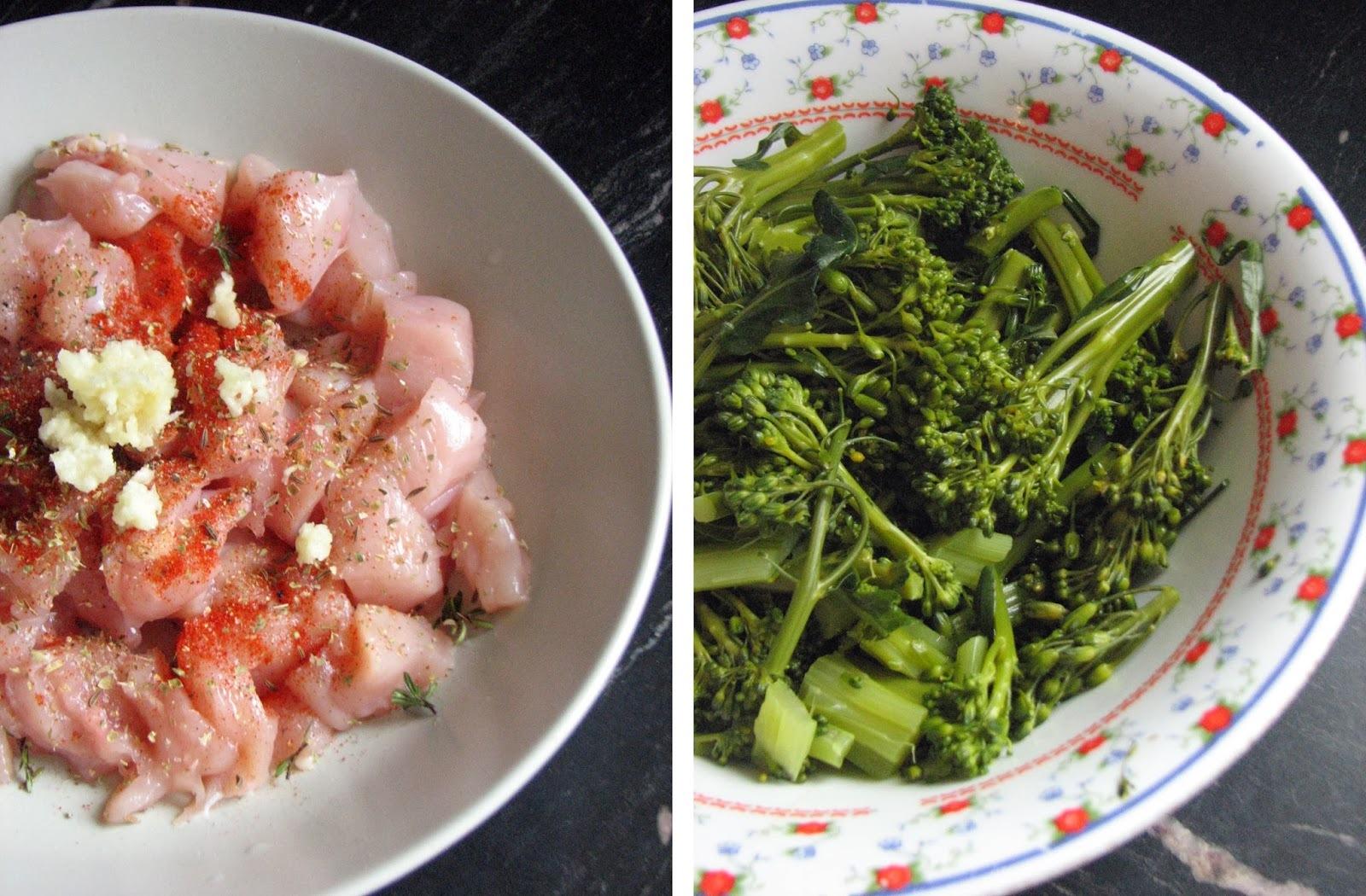 Gyros nabujak od piletine i brokule