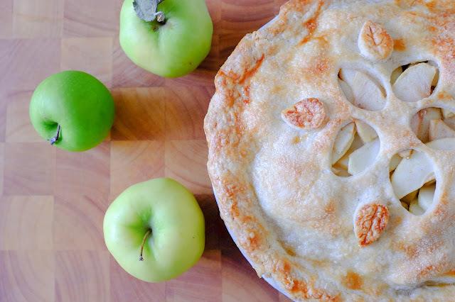 Birthday Pie! Flaky All-Butter Crust Apple Pie