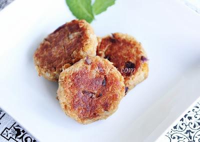 Potato Chickpea Patties