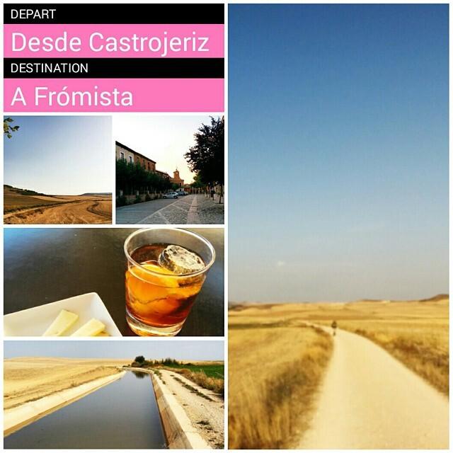 Camino de Santiago, etapa 13: Castrojeriz - Frómista. Tierra de Campos